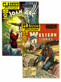 Golden Age (1938-1955):Classics Illustrated, Classics Illustrated #62 and 78 Group (Gilberton, 1949-50)Condition: Average VF+. Both are original copies with covers and... (Total: 2 Comic Books)