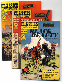 Classics Illustrated First Edition Group (Gilberton, 1949-56) Condition: Average FN+. Nothing but Original Editions in t...