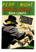 Golden Age (1938-1955):Crime, Complete Mystery #3 (Marvel, 1948) Condition: GD. Cover and art bythe great Carl Burgos. Overstreet 2005 GD 2.0 value = $40...