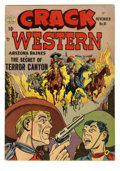 """Golden Age (1938-1955):Western, Crack Western #81 (Quality, 1952). Gerber gives this issue """"rare""""status. Overstreet 2005 FN 6.0 value = $39...."""