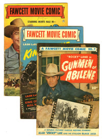 Fawcett Movie Comic Group (Fawcett, 1949-50) Condition: Average GD/VG. Included here are # 7 (FN- condition; Bob Powell...