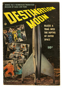 "Fawcett Movie Comic #nn Destination Moon (Fawcett, 1950) Condition: VG+. Adapts George Pal's movie ""Destination Moo..."