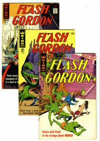 Flash Gordon #1-11 Group (King Features Syndicate, 1966-67) Condition: Average FN/VF. A complete run of the King Feature...