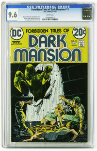 Forbidden Tales of Dark Mansion #11 (DC, 1973) CGC NM+ 9.6 White pages. Jack Sparling and Nick Cardy cover. Alfredo Alca...