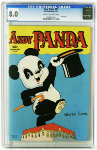 Four Color #25 Andy Panda (Dell, 1943) CGC VF 8.0 Cream to off-white pages. Andy Panda #1. Walter Lantz art. Overstreet...