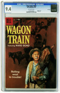 Silver Age (1956-1969):Western, Four Color #895 Wagon Train -- File copy (Dell, 1958) CGC NM 9.4 Off-white pages. Photo cover. Overstreet 2005 NM- 9.2 value...