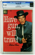 Silver Age (1956-1969):Western, Four Color #931 Have Gun, Will Travel -- File copy (Dell, 1958) CGCVF/NM 9.0 Off-white pages. Photo cover. Overstreet 2005 ...