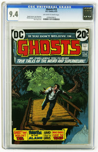 Ghosts #15 (DC, 1973) CGC NM 9.4 Off-white to white pages. Nick Cardy cover. Buddy Glanzman, Alfredo Alcala, and Rico Ri...