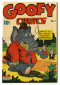 Golden Age (1938-1955):Funny Animal, Goofy Comics #7 (Nedor Publications, 1944) Condition: VF.Overstreet 2005 VF 8.0 value = $69....