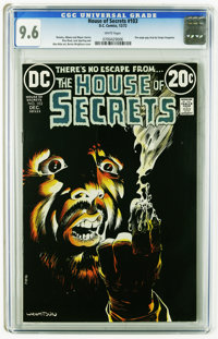 House of Secrets #103 (DC, 1973) CGC NM+ 9.6 White pages. One page gag strip by Sergio Aragones. Bernie Wrightson cover...
