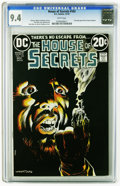 Bronze Age (1970-1979):Horror, House of Secrets #103 (DC, 1973) CGC NM 9.4 White pages. BernieWrightson cover art. Alex Nino, Jack Sparling, and Rico Riva...