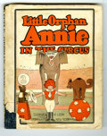 """Platinum Age (1897-1937):Miscellaneous, Little Orphan Annie #2 """"In the Circus"""" (Cupples & Leon, 1927)Condition: VG. This hardbound collection of early Little Orp..."""