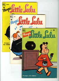 Marge's Little Lulu Group (Dell, 1951) Condition: Average VG. Group includes: #32, 33, 36, 37, and as an extra treat Fou...
