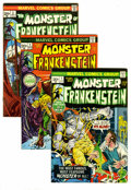 Bronze Age (1970-1979):Horror, Marvel Bronze Age Horror Group (Marvel, 1972-73). IncludesFrankenstein #1, 2, 3, 4, 5, and 6 (average FN/VF); Marvel ...(Total: 11 Comic Books)