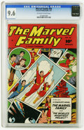 Golden Age (1938-1955):Superhero, The Marvel Family #56 (Fawcett, 1951) CGC NM+ 9.6 Off-white to white pages. Overstreet 2005 NM- 9.2 value = $160. CGC census...