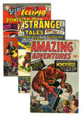Silver Age (1956-1969):Miscellaneous, Miscellaneous Silver Age (Various, 1953-68) Condition: Average VG.You want fantastic monsters, superheroes, and science fic...(Total: 15 Comic Books)