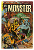 Golden Age (1938-1955):Horror, Monster #2 (Fiction House, 1953) Condition: GD/VG. It was coverslike this that gave kids of the 50s nightmares. Overstreet ...