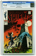 Silver Age (1956-1969):Science Fiction, Nick Fury, Agent of SHIELD #3 (Marvel, 1968) CGC NM 9.4 Off-white to white pages. Spooky cover with a haunted castle, a hell...