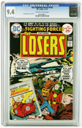 Bronze Age (1970-1979):War, Our Fighting Forces #153 (DC, 1975) CGC NM 9.4 Off-white to white pages. Jack Kirby story, cover, and art. Overstreet 2005 N...