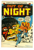 Golden Age (1938-1955):Horror, Out of the Night #16 (ACG, 1954) Condition: FN+. Overstreet 2005 FN6.0 value = $69; VF 8.0 value = $132....