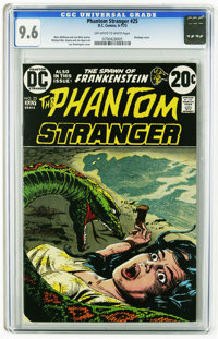 The Phantom Stranger #25 (DC, 1973) CGC NM+ 9.6 Off-white to white pages. Bondage cover by Luis Dominguez. Michael Kalut...