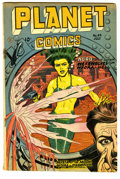 Golden Age (1938-1955):Science Fiction, Planet Comics #49 (Fiction House, 1947) Condition: VG-. MurphyAnderson, Lily Renee, Joe Cavallo, George Evans, Frank Doyle,...