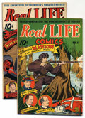 Golden Age (1938-1955):Non-Fiction, Real Life Comics #36 and 37 Group (Nedor Publications, 1946)Condition: Average VF+. Group includes: #36 (story of the autom...(Total: 2 Comic Books)