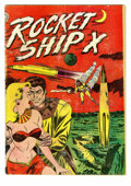 Golden Age (1938-1955):Science Fiction, Rocket Ship X #1 (Fox, 1951) Condition: GD. Overstreet 2005 GD 2.0value = $62....