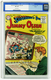 Superman's Pal Jimmy Olsen #9 Circle 8 pedigree (DC, 1955) CGC VF+ 8.5 Off-white pages. Curt Swan cover. Art by Swan and...