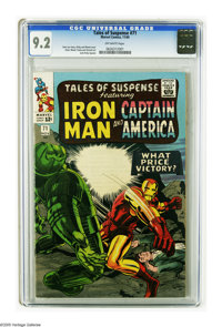 Tales of Suspense #71 (Marvel, 1965) CGC NM- 9.2 Off-white pages. Jack Kirby and Wally Wood cover. Wood, George Tuska, D...