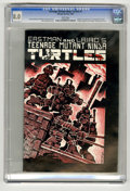 Modern Age (1980-Present):Alternative/Underground, Teenage Mutant Ninja Turtles #1 (Mirage Studios, 1984) CGC VF 8.0White pages. Origin and first appearance of the Teenage Mu...