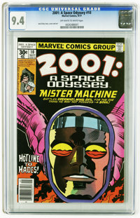 2001: A Space Odyssey #10 (Marvel, 1977) CGC NM 9.4 Off-white to white pages. Jack Kirby story, cover, and art. This is...