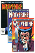 Modern Age (1980-Present):Superhero, Wolverine (Limited Series) #1-4 Group (Marvel, 1982) Condition:Average VF. All four issues of Wolvie's first solo title, wr...(Total: 4 Comic Books)