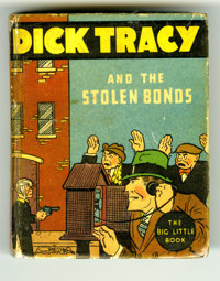 Big Little Book 1105 Dick Tracy and the Stolen Bonds (Whitman, 1934) Condition: FN. Hardcover, by Chester Gould. Comes i...