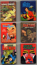 """Platinum Age (1897-1937):Miscellaneous, Big Little Book Silver Age Group (Whitman, 1967-69) Condition:Average FN. Includes #2001 (""""Dick Tracy Encounters Facey""""), 2...(Total: 6)"""