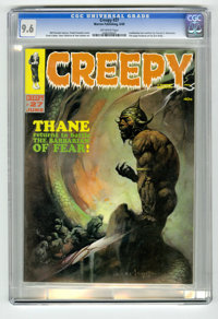 Creepy #27 (Warren, 1969) CGC NM+ 9.6 Off-white pages. Fantastic cover art by Frank Frazetta. Steve Ditko, Reed Crandall...