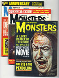 Silver Age (1956-1969):Horror, Famous Monsters of Filmland #14 and 22-25 Group (Warren, 1963)Condition: Average GD. Includes #14, 22 (VG), 23 (VG), 24, an...(Total: 6 Comic Books)