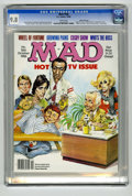 Magazines:Mad, Mad #266 Gaines File pedigree (EC, 1986) CGC NM/MT 9.8 White pages.Mort Drucker wraparound cover featuring Johnny Carson, J...