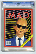 """Magazines:Mad, Mad #269 Gaines File pedigree (EC, 1987) CGC NM+ 9.6 White pages.Alfred E. """"Headroom"""" beats out Max Headroom for """"Head of t..."""