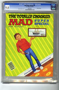 Modern Age (1980-Present):Humor, Mad Special #60 Gaines File pedigree (EC, 1987) CGC NM/MT 9.8 Whitepages. This copy is so beautiful, that it almost hit an ...