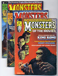Magazines:Horror, Marvel Magazines Horror Group (Marvel, 1974-75) Condition: Average FN+. Includes Monsters of the Movies #1, 2, 3, 4, 5, ... (Total: 12 Comic Books)