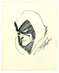 Original Comic Art:Sketches, Neal Adams - Spectre Sketch Original Art (1969). Neal Adams had a terrific stint on the Silver Age Spectre title -- he w...