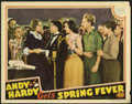 """Movie Posters:Comedy, Andy Hardy Gets Spring Fever (MGM, 1939). Lobby Card (11"""" X 14""""). Mickey Rooney stars in one of the beloved Andy Hardy comed..."""