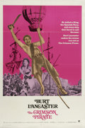 "Movie Posters:Adventure, The Crimson Pirate (Warner Brothers, R-1971). One Sheet (27"" X41""). Former circus acrobat Burt Lancaster shows off his skil..."