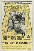 "Movie Posters:Adventure, The Guns of Navarone (Columbia, 1961). Australian One Sheet (27"" X40""). Gregory Peck, Anthony Quinn, and David Niven star i..."