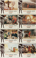 """Movie Posters:Action, Hellfighters (Universal, 1969). Lobby Card Set of 8 (11"""" X 14"""").Oil industry legend Red Adair provided technical coaching f...(Total: 8 Items)"""