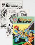 Magazines:Superhero, Charlton Bullseye Group of 5 (Charlton, 1975-76) Condition: AverageNM-.... (Total: 5 Items)