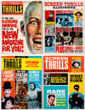 Magazines:Miscellaneous, Screen Thrills Illustrated Group of 5 (Warren, 1961-65) Condition: Average VF/NM.... (Total: 5 Items)