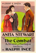 "Movie Posters:Drama, The Combat (Vitagraph, 1916). One Sheet (27.25"" X 41"").. ..."
