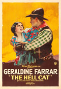 "Movie Posters:Western, The Hell Cat (Goldwyn, 1918). One Sheet (28"" X 41.5"").. ..."